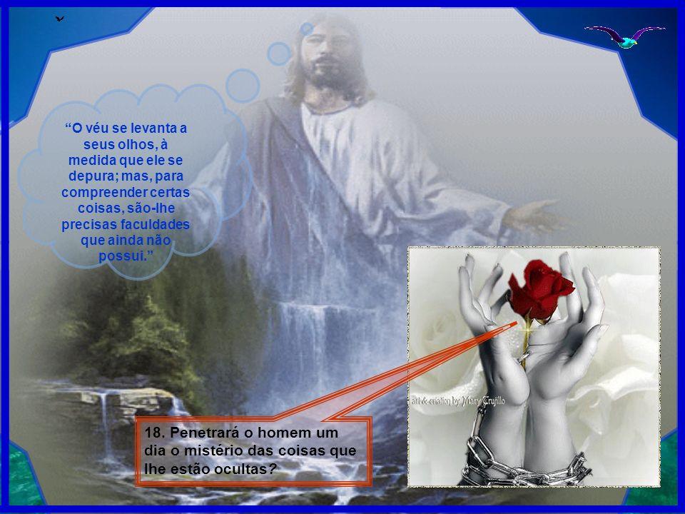 19.Não pode o homem, pelas investigações científicas, penetrar alguns dos segredos da Natureza.