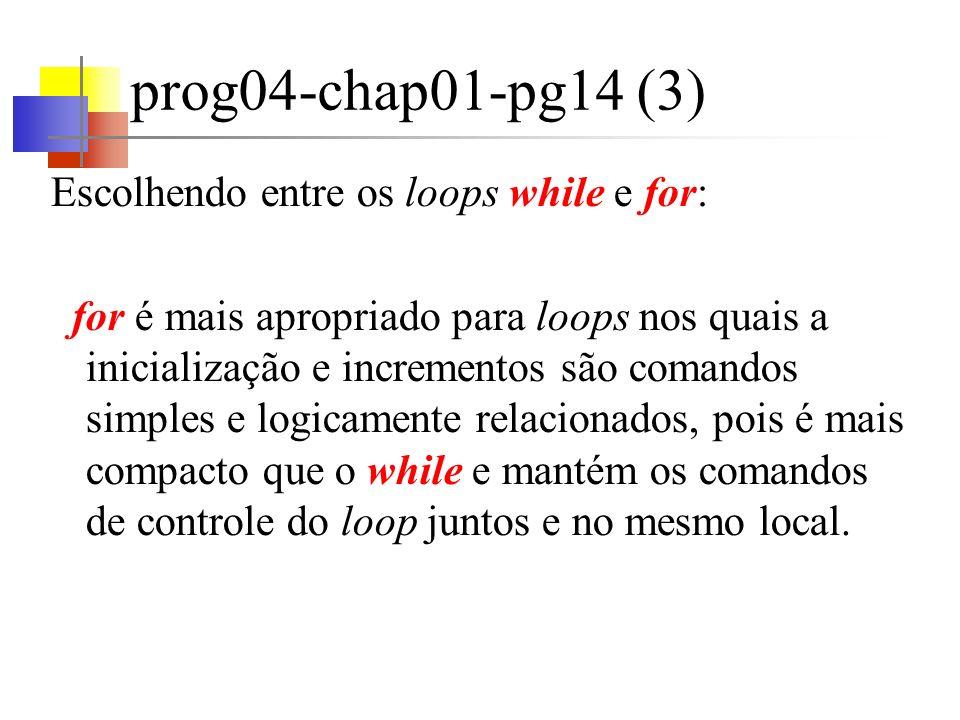 prog05-chap01-pg17 (1) O uso de números mágicos em um programa não é boa prática de programação (ex.