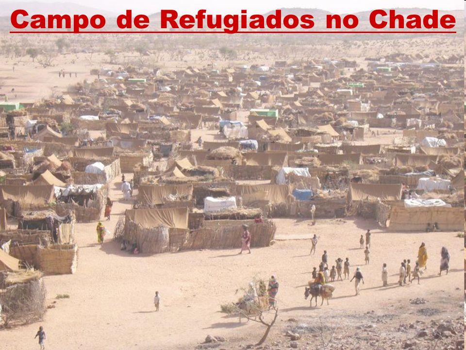 Campo de Refugiados no Chade