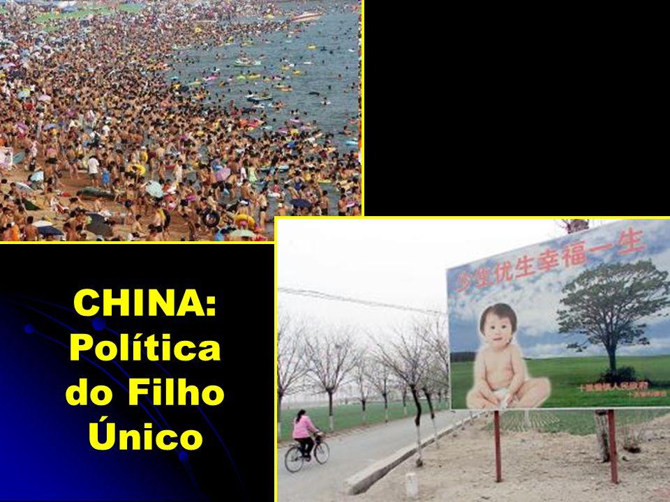 CHINA: Política do Filho Único