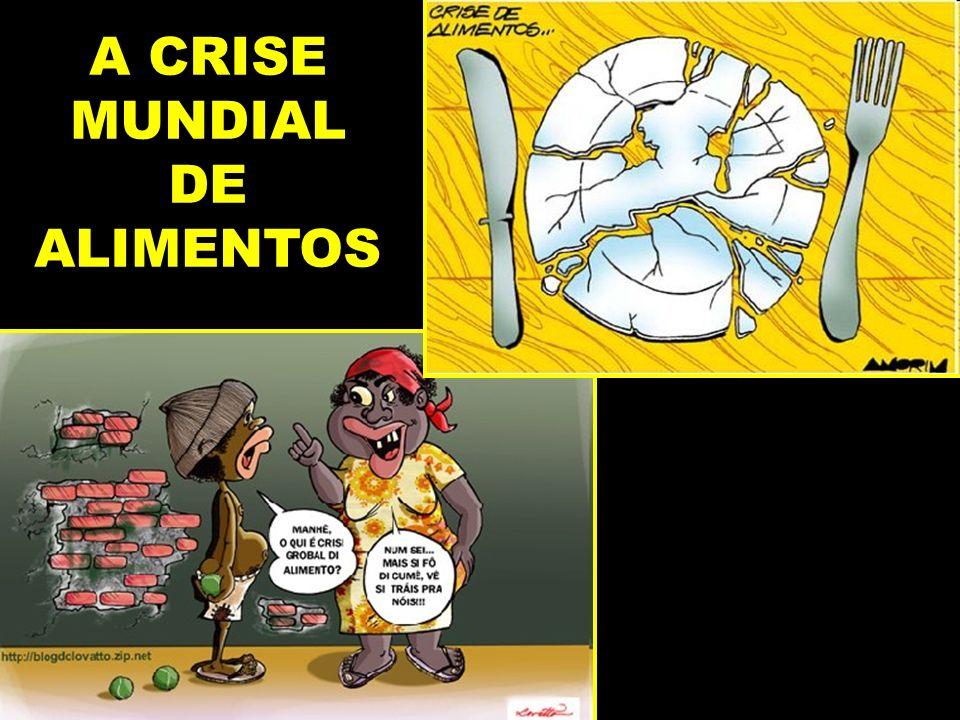 A CRISE MUNDIAL DE ALIMENTOS