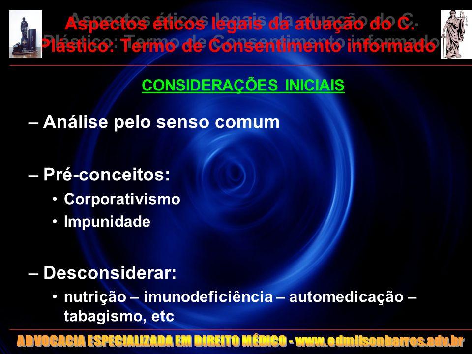 13 Aspectos éticos legais da atuação do C.