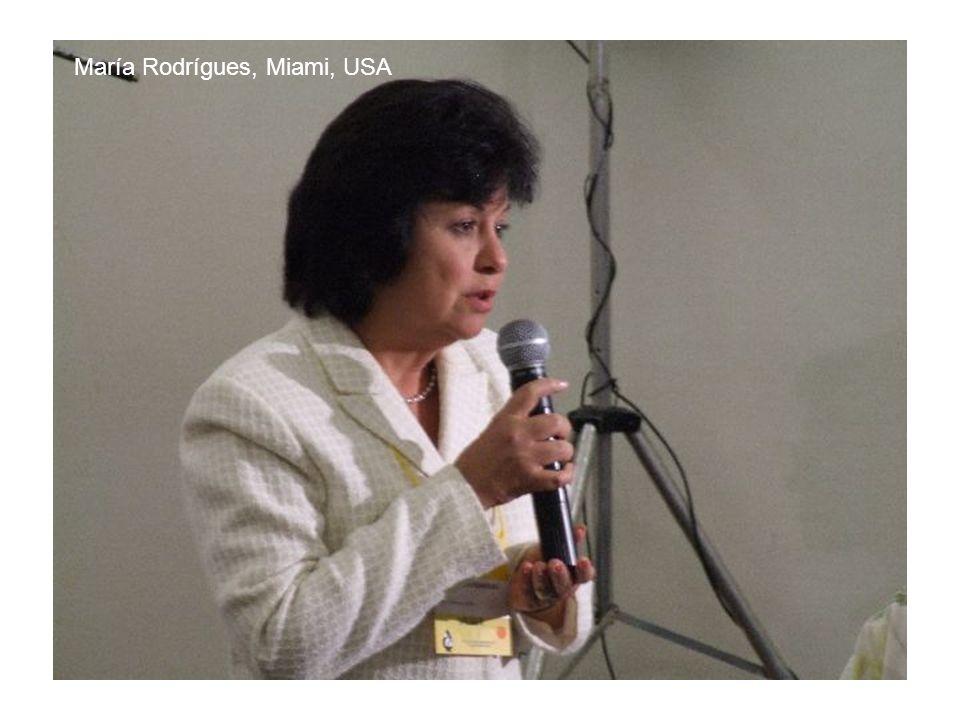 María Rodrígues, Miami, USA
