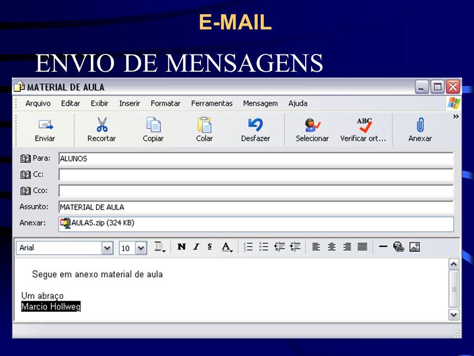 ENVIO DE MENSAGENS