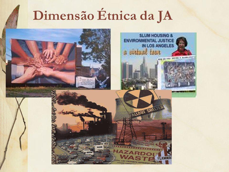 Dimensão Étnica da JA