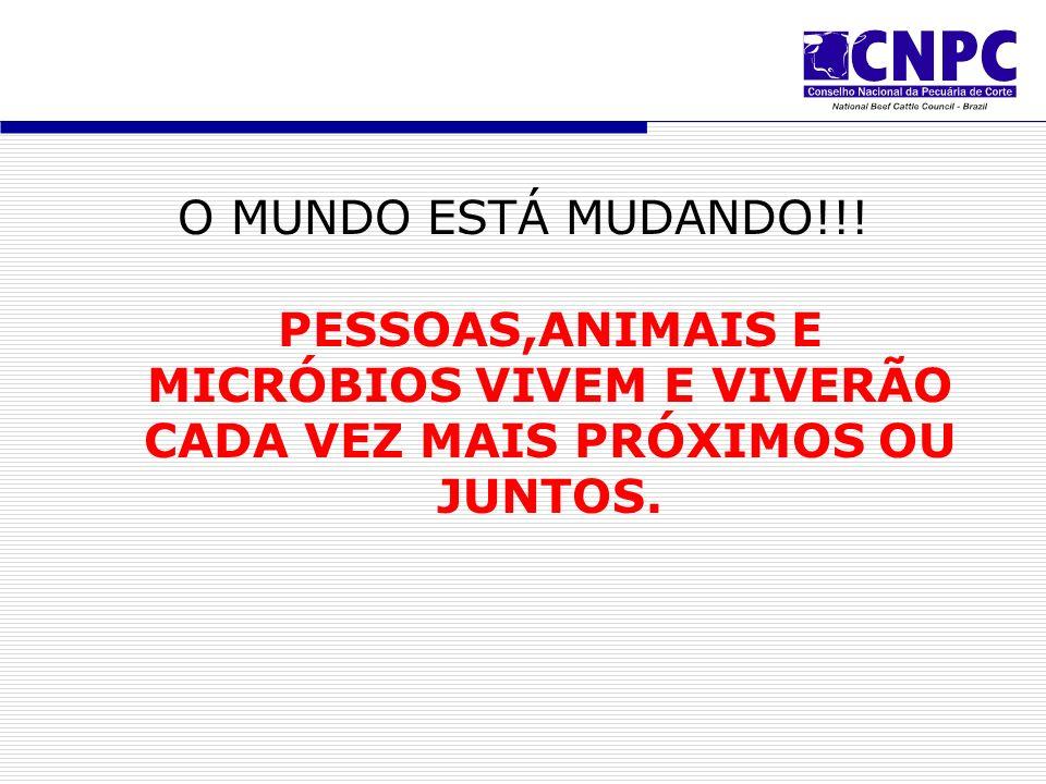 O MUNDO ESTÁ MUDANDO!!.