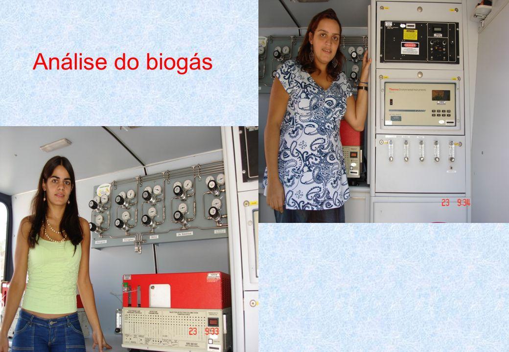 Análise do biogás