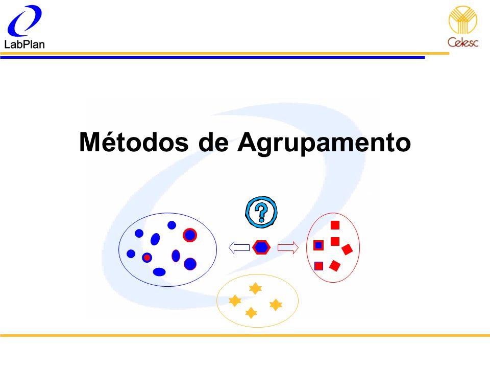Métodos de Agrupamento
