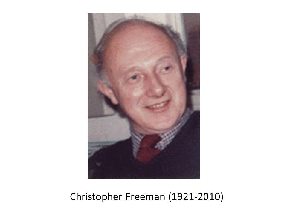 Christopher Freeman (1921-2010)