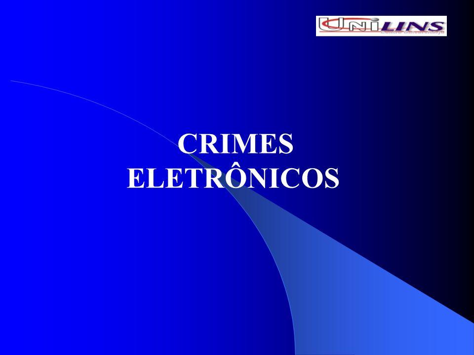 CLASSIFICAÇÃO DOS CRIMES ELETRÔNICOS PUROS – aqueles no qual o infrator visa especificamente ao sistema de informática, dos dados e sistemas e dos meios de armazenamento (crime da dano e acesso não autorizado); MISTOS – o sistema informático utilizado é mera ferramenta para a infração de outros bens jurídicos (estelionato, ameaça, etc).