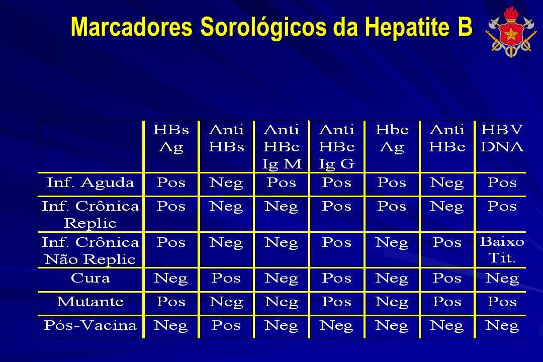 Marcadores Sorológicos da Hepatite B