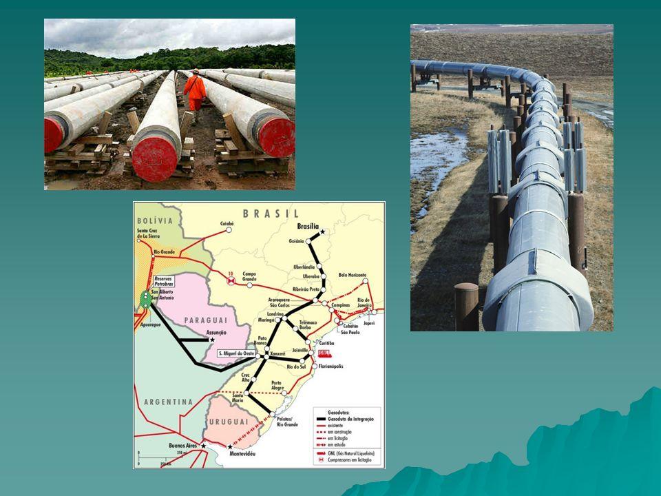 Petróleo: 70s: limitada produção, poços terrestres, Recôncavo Baiano; 70s: limitada produção, poços terrestres, Recôncavo Baiano; Hoje: poços submarinos da plataforma continental, Bacia de Campos – 60% da produção nacional.