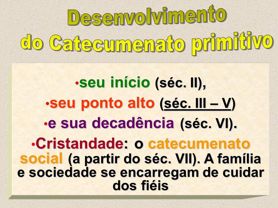 3 seu início (séc. II), seu início (séc. II), seu ponto alto (séc. III – V) seu ponto alto (séc. III – V) e sua decadência (séc. VI). e sua decadência