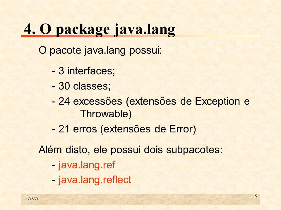 JAVA 86 6.Programação multitarefa Inicialmente, precisamos de um modelo para o tempo.