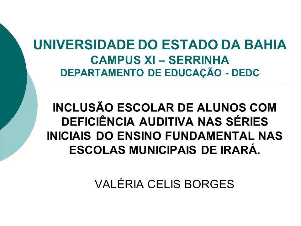 ORIENTADORAS: PROFESSORA Ms. ZENILDA FONSECA DE J. SOUZA PROFESSORA GENNY MAGNA M. AYRES