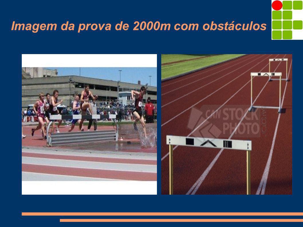 Imagem da prova de 2000m com obstáculos