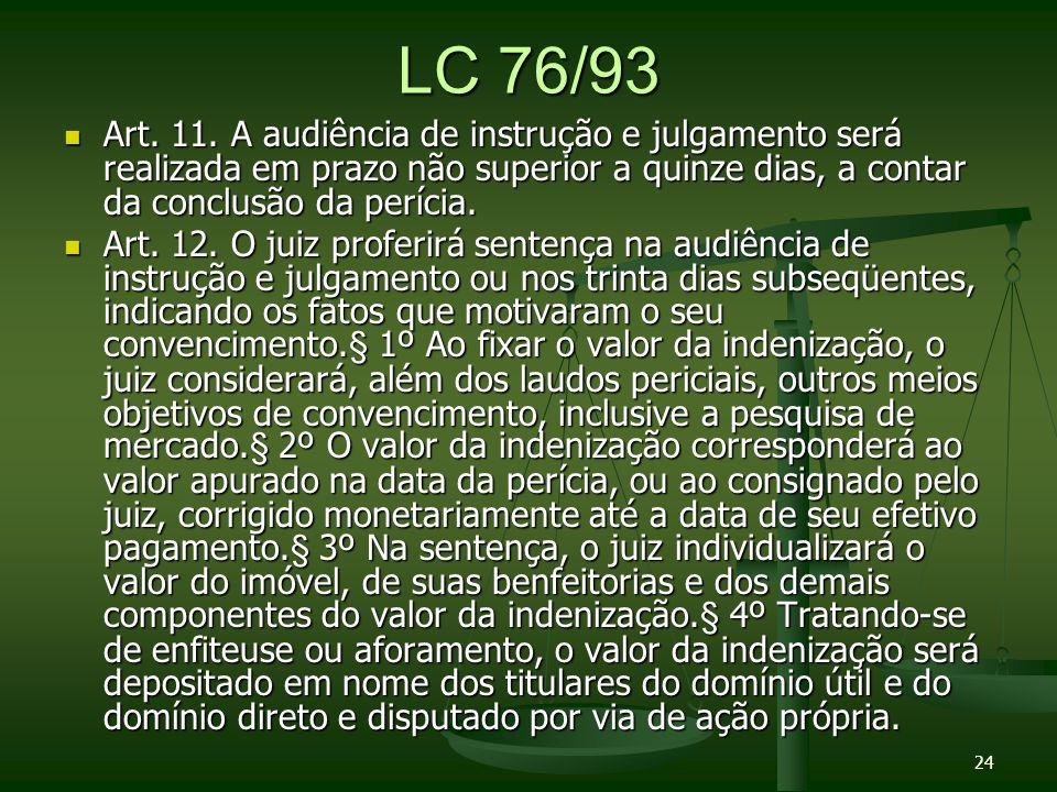 LC 76/93 Art.11.
