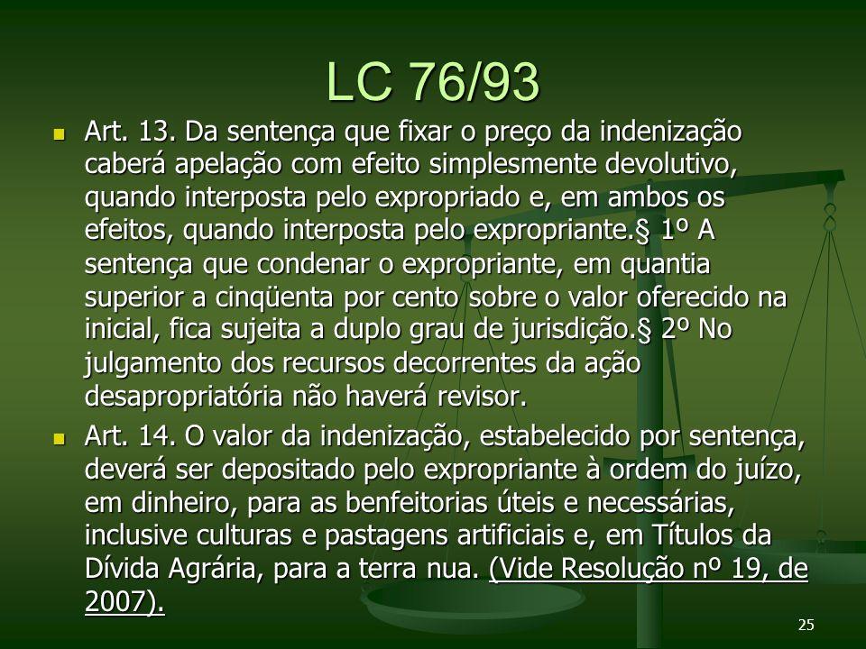 LC 76/93 Art.13.