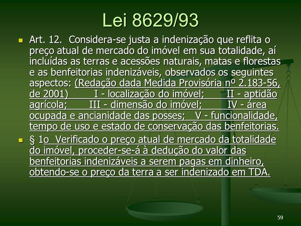 Lei 8629/93 Art.12.