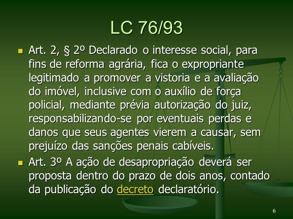 Lei 8629/93 Art.24.