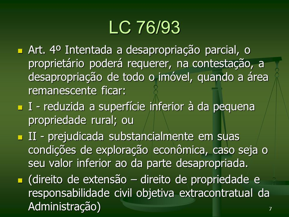 LC 76/93 INFORMATIVO Nº 197 - Desapropriação e Pagamento de Indenizações - Por ofensa ao art.