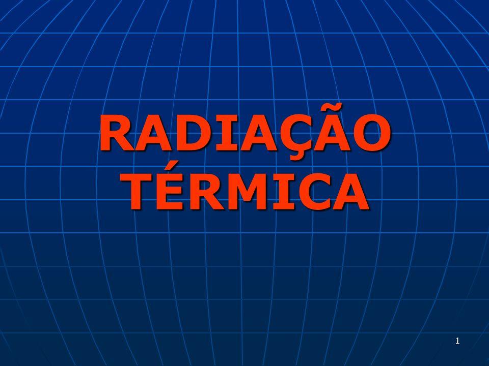 1 RADIAÇÃO TÉRMICA