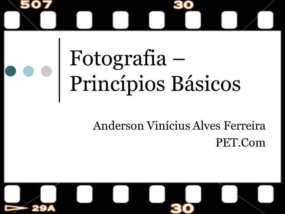 Fotografia – Princípios Básicos Anderson Vinícius Alves Ferreira PET.Com