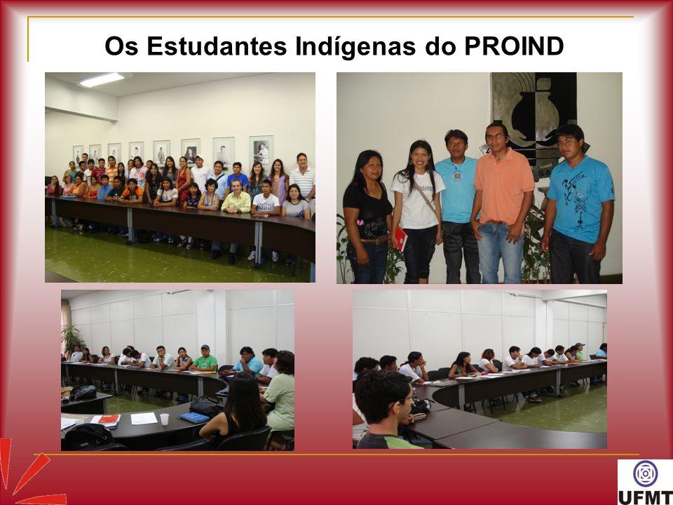 Os Estudantes Indígenas do PROIND