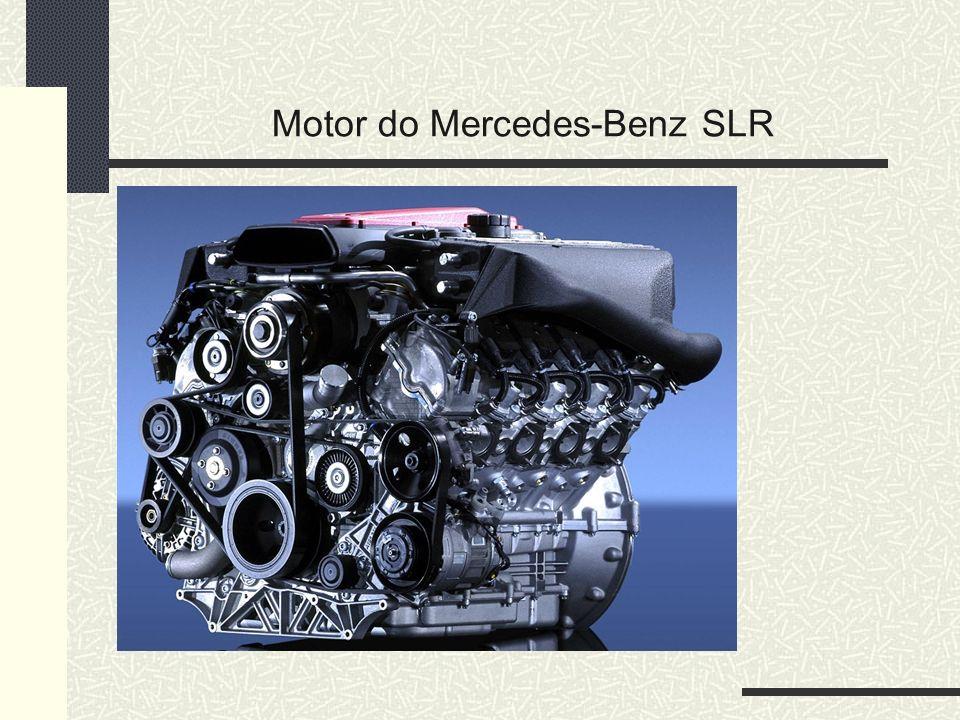 Motor do Mercedes-Benz SLR