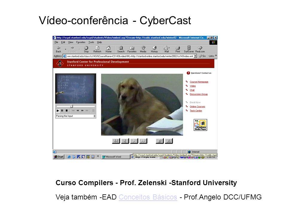 Vídeo-conferência - CyberCast Curso Compilers - Prof. Zelenski -Stanford University Veja também -EAD Conceitos Básicos - Prof.Angelo DCC/UFMGConceitos