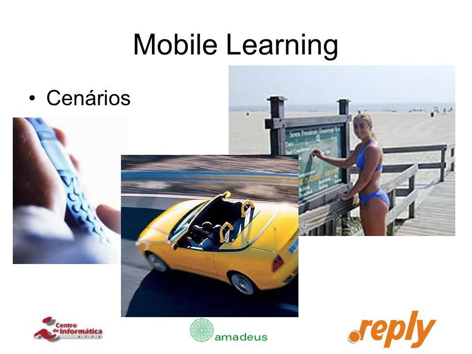 Mobile Learning Cenários