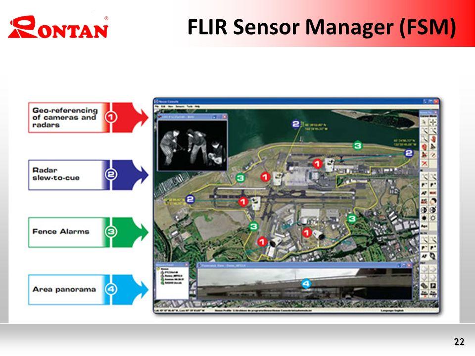 22 FLIR Sensor Manager (FSM)