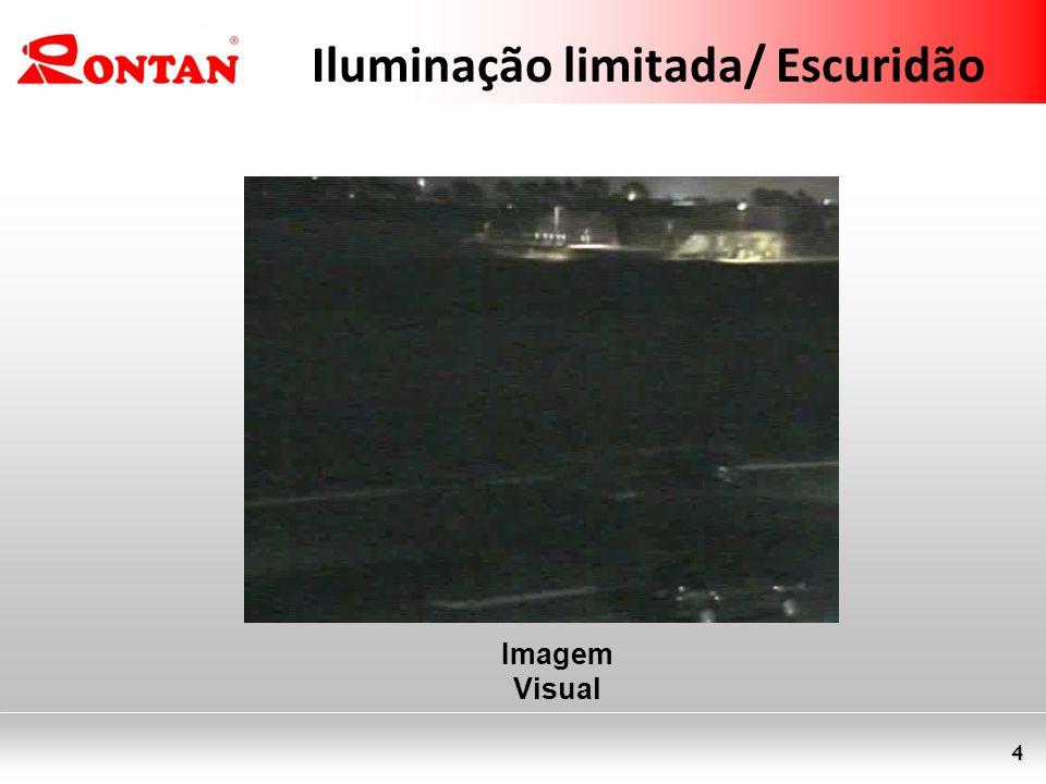 4 Iluminação limitada/ Escuridão Imagem Visual