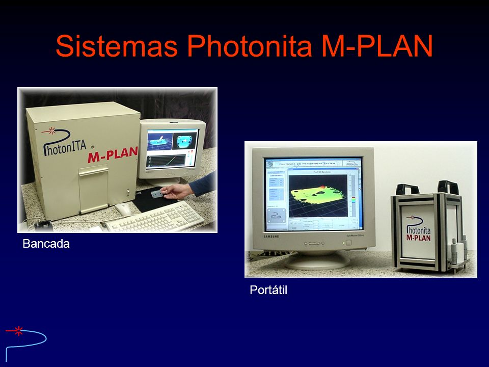 Sistemas Photonita M-PLAN Bancada Portátil