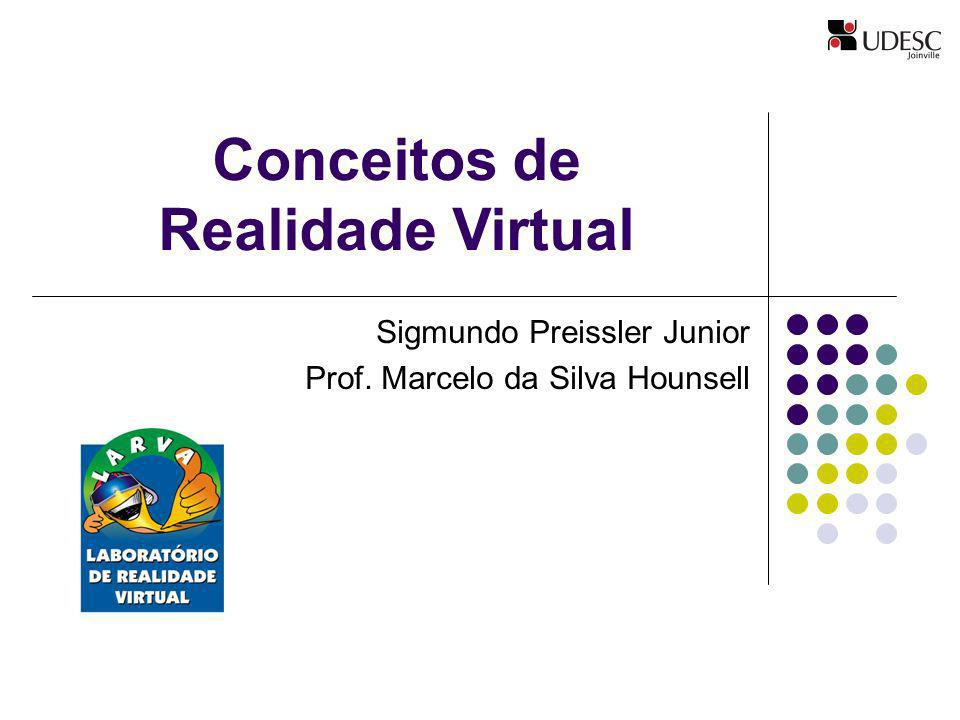 Conceitos de Realidade Virtual Sigmundo Preissler Junior Prof. Marcelo da Silva Hounsell