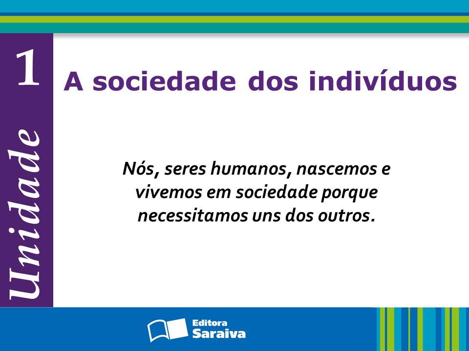 Capítulo 3 As relações entre indivíduo e sociedade Exercício Observe a imagem abaixo.