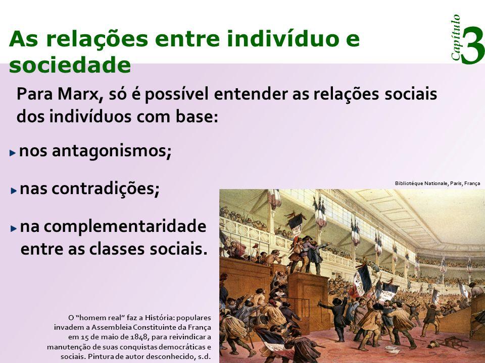 Capítulo 3 As relações entre indivíduo e sociedade O conceito de configuração No grupo social não há separação entre indivíduo e sociedade.
