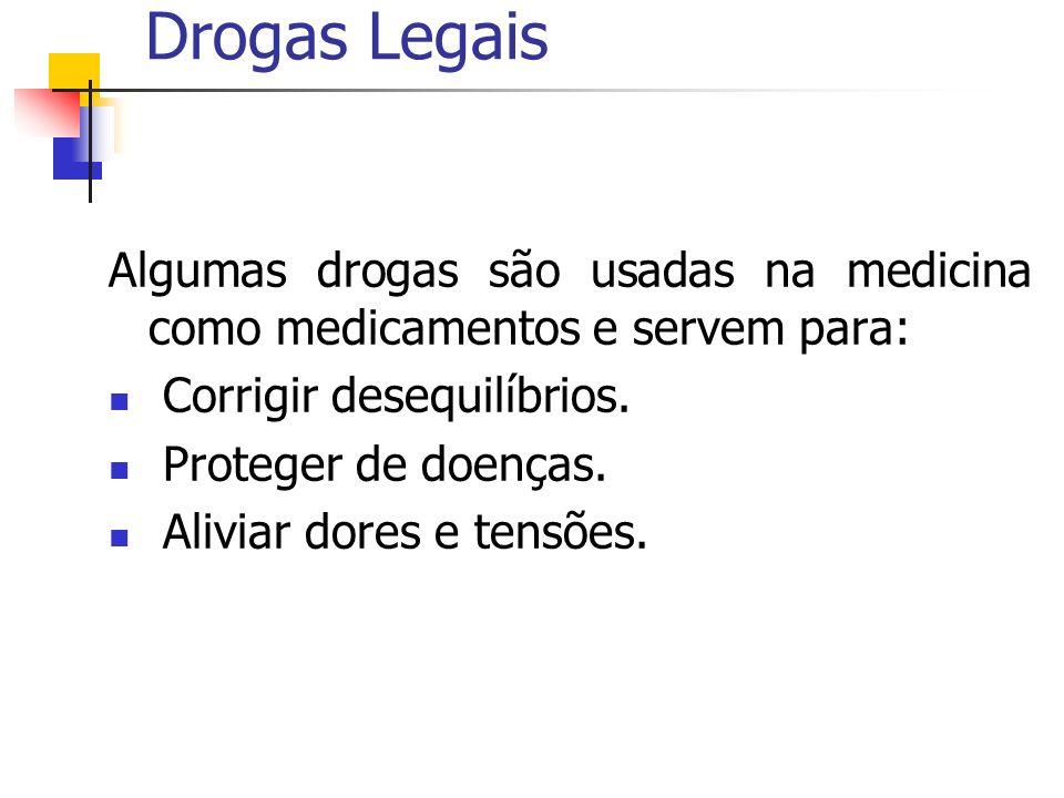 Drogas Ilegais Não são aceitas socialmente.Substancias tóxicas Dependência.