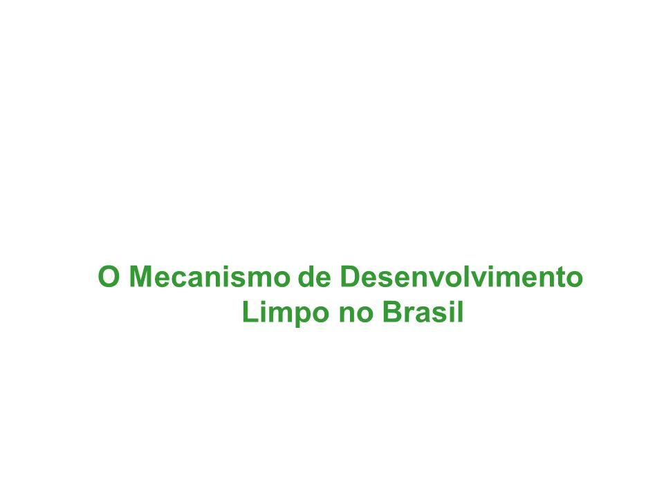 O Mecanismo de Desenvolvimento Limpo no Brasil