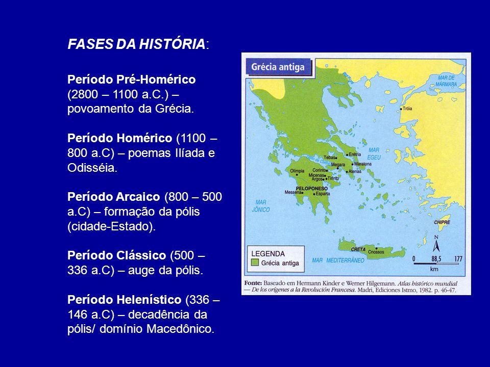 ATENAS - ABERTA AO COMÉRCIO, RICA, DINÂMICA E DEMOCRÁTICA; O BERÇO DA DEMOCRACIA: Atenas destacou-se como o maior centro cultural, político e econômico da Grécia.