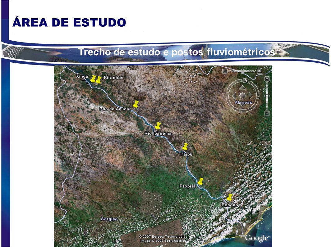OBJETIVOS ESPECÍFICOS 1.Caracterização das condições do regime de fluxo natural pré-barragens; 2.Caracterização das condições do regime de fluxo pós-b