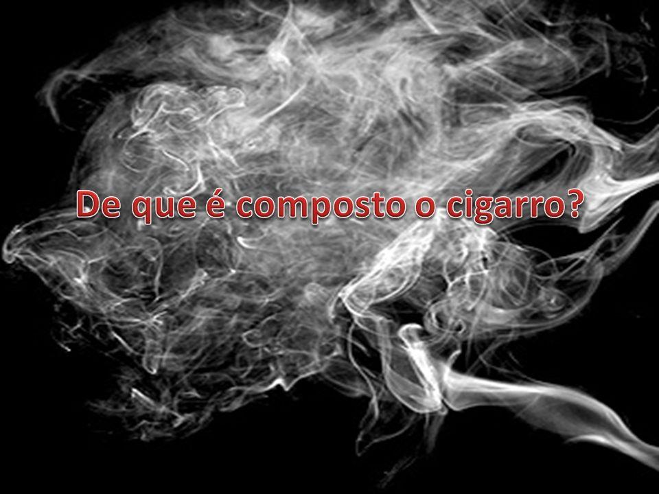 O cigarro é um produto industrializado que contém as folhas secas da planta conhecida como tabaco e possui até setecentos aditivos químicos, mas a lei permite que os fabricantes guardem a lista em segredo.