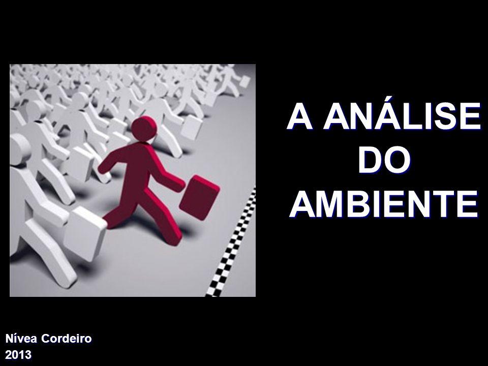 A ANÁLISE DO AMBIENTE X Xx X x Nívea Cordeiro 2013
