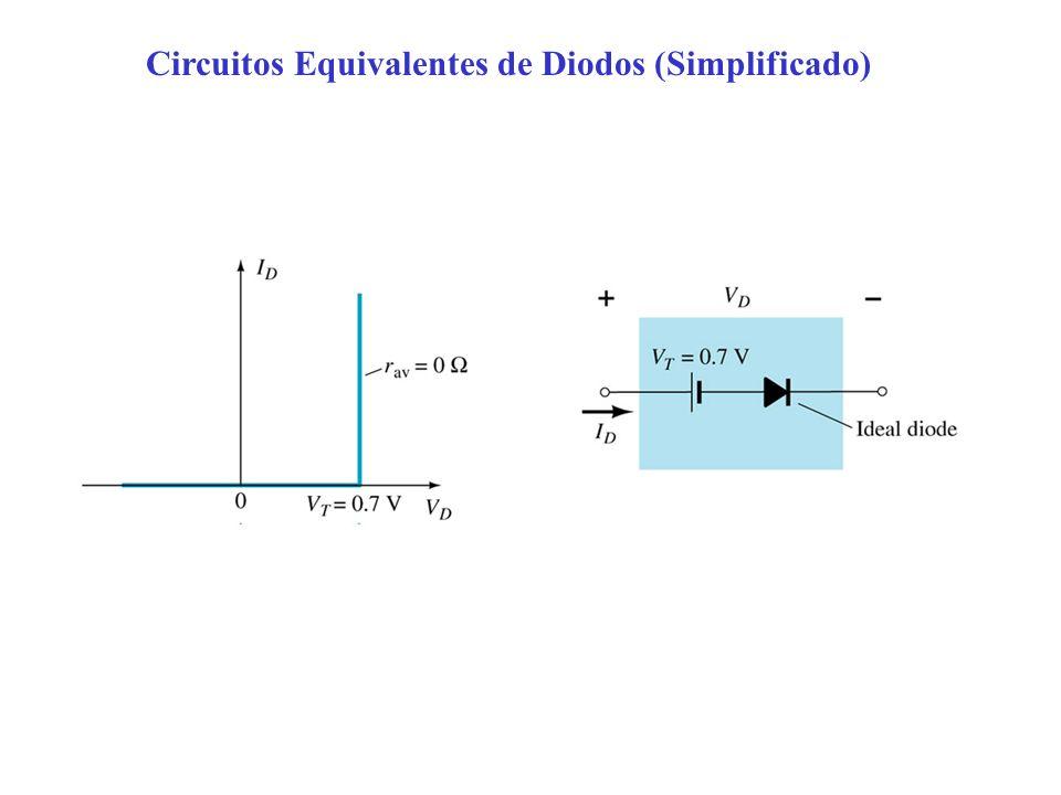 Circuitos Equivalentes de Diodos (Simplificado)