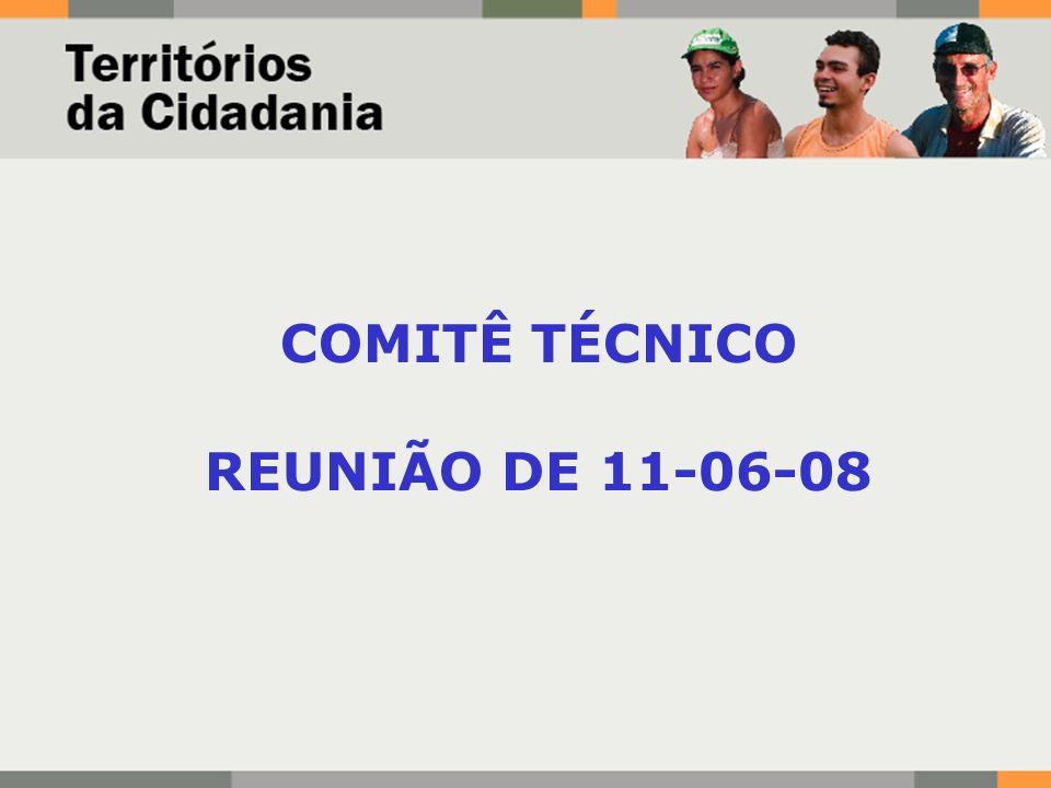 COMITÊ TÉCNICO REUNIÃO DE 11-06-08