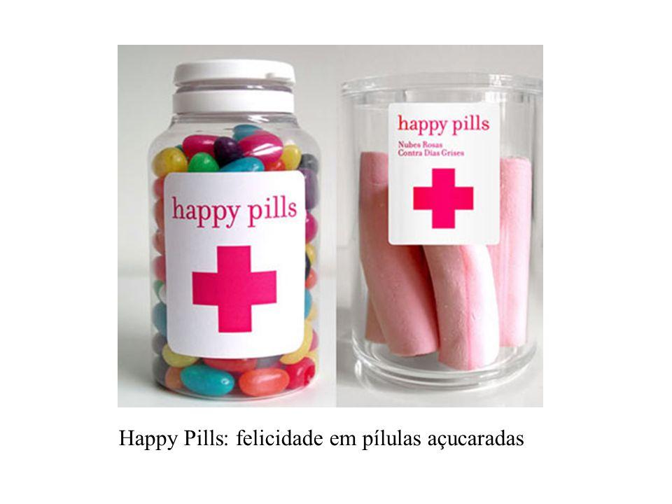 Happy Pills: felicidade em pílulas açucaradas