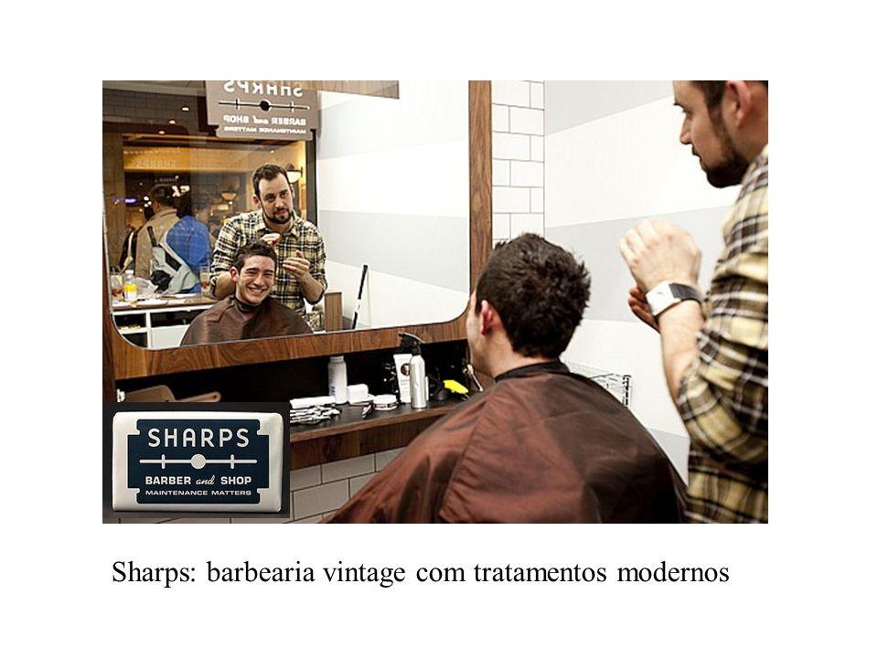 Sharps: barbearia vintage com tratamentos modernos