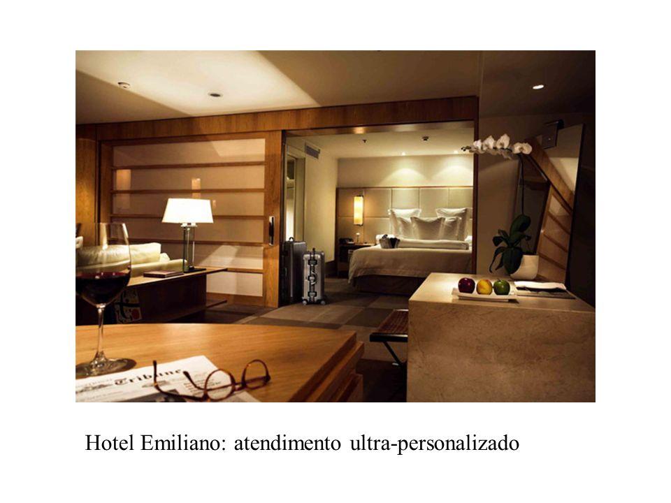 Hotel Emiliano: atendimento ultra-personalizado