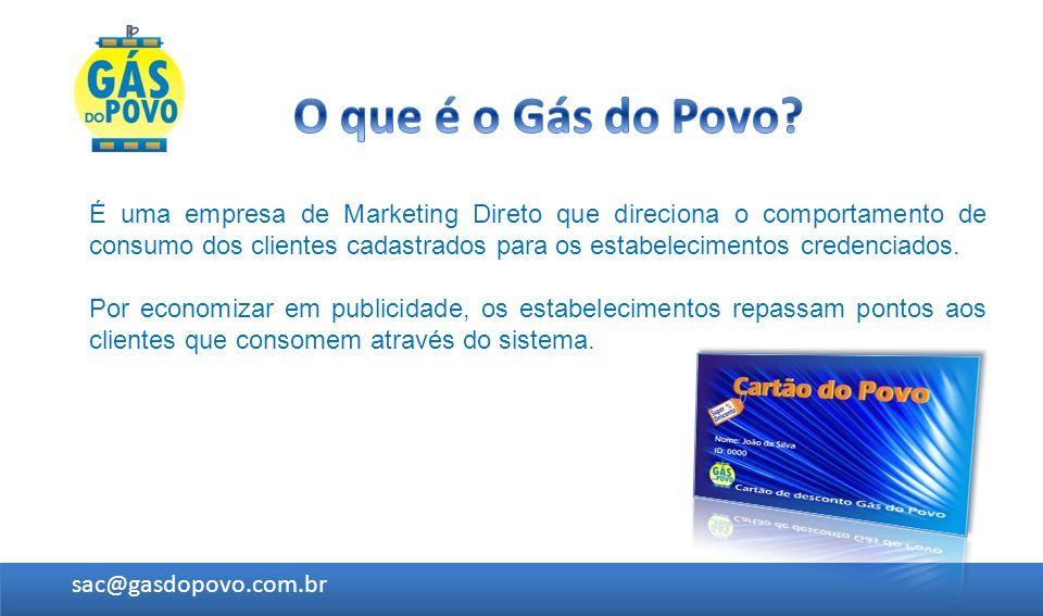 É uma empresa de Marketing Direto que direciona o comportamento de consumo dos clientes cadastrados para os estabelecimentos credenciados. Por economi
