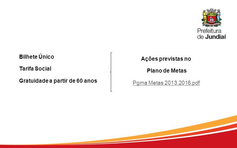 Bilhete Único Tarifa Social Gratuidade a partir de 60 anos Ações previstas no Plano de Metas Pgma Metas 2013.2016.pdf